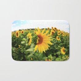 Sunflower 17 Bath Mat