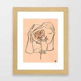 Dream lovers Framed Art Print