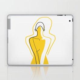 Sun Kissed Shy Girl Laptop & iPad Skin