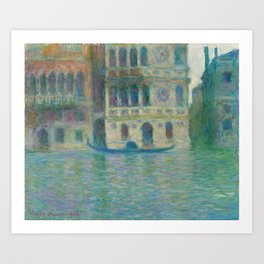 Venice Palazzo Dario Art Print