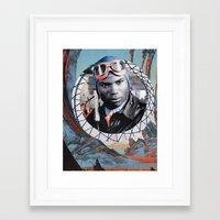 pilot Framed Art Prints featuring Pilot by Jedi Master Schmidt