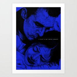 I can't be your ghost (Colour Version) Art Print