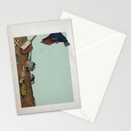 Bird House Stationery Cards
