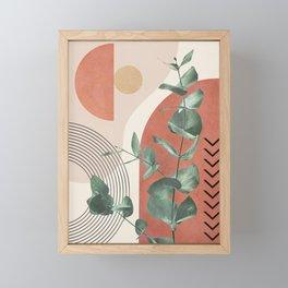 Nature Geometry IV Framed Mini Art Print