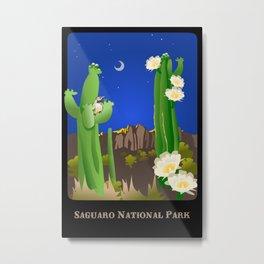 Saguaro National Park Metal Print
