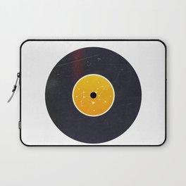 Vinyl Record Star Sign Art | Leo Laptop Sleeve