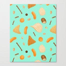 Dirty Finger Snacks Canvas Print