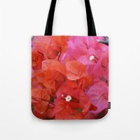 flora Tote Bags featuring Flora by Kakel-photography