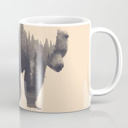 forest in the bear Coffee Mug