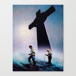No Shade in the Shadow of the Cross Canvas Print