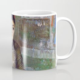 Vincent Van Gogh Agostina Segatori in the Cafe at Tambourin 1887 Coffee Mug