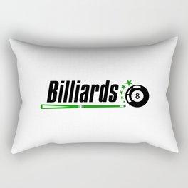 Billiard #society6 Rectangular Pillow