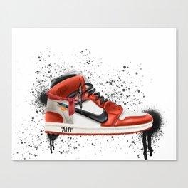 OFF WHITE J1 Canvas Print