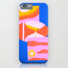Time is Weird iPhone Case