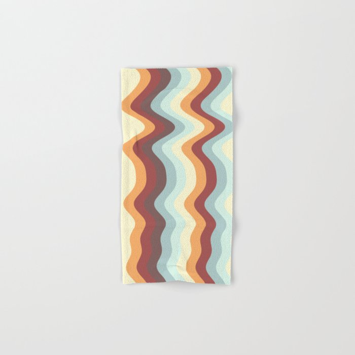 Abstract lines 27 Hand & Bath Towel