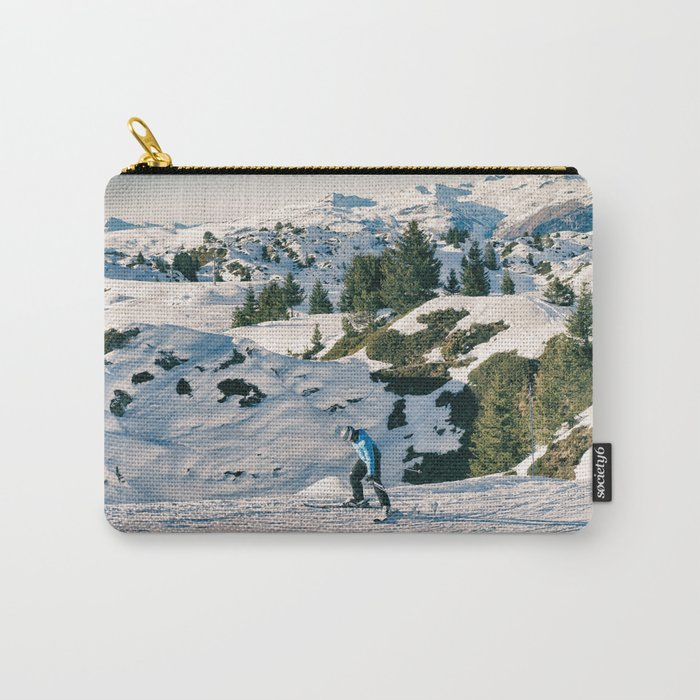 le skieur 7 Carry-All Pouch