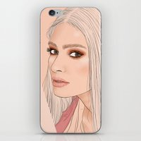versace iPhone & iPod Skins featuring Versace eyes by byfrana