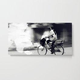 Speedy Ride Metal Print