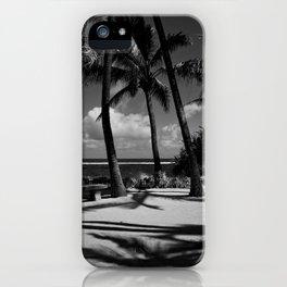 Kuau Beach Palm Trees Paia Maui Hawaii iPhone Case