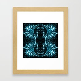 Blue Wings Framed Art Print