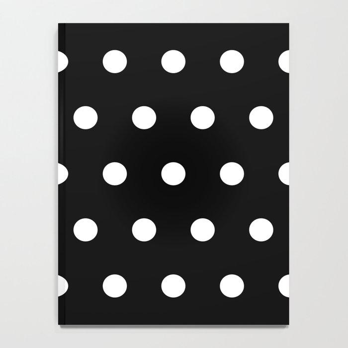 Dots on black Notebook