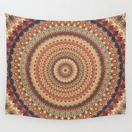 Earth Mandala 3 Wall Tapestry