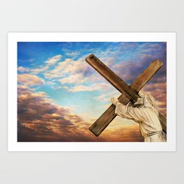 He has Risen Art Print