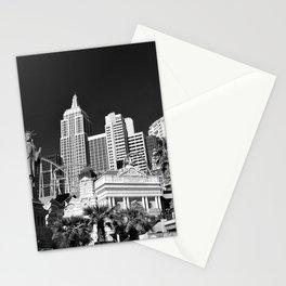 New York New York Las Vegas America Stationery Cards