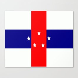 Flag of the Netherlands Antilles Canvas Print
