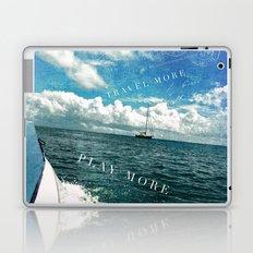 travel more, play more Laptop & iPad Skin