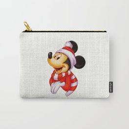 Cute christmas Mickey Carry-All Pouch