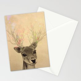 Electro-deer Stationery Cards