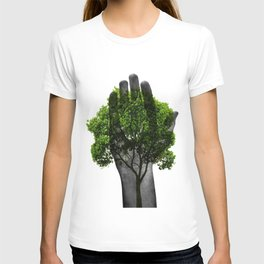 prayer from tree T-shirt