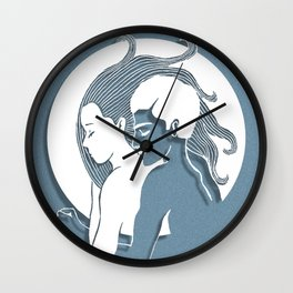 My safe place Wall Clock