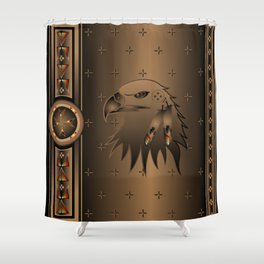 Eagle Nation Shower Curtain