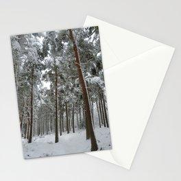 Snowy woodland Stationery Cards