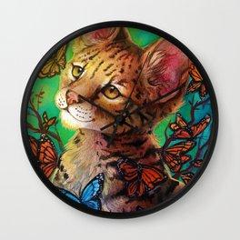 serval soul Wall Clock