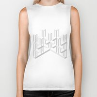 illusion Biker Tanks featuring Illusion by designpraxis