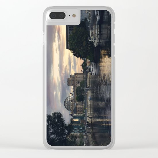 Spree Clear iPhone Case