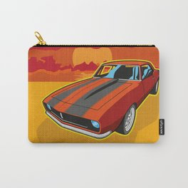 Red Camaro at Sunset Carry-All Pouch