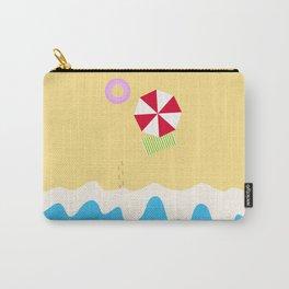 hey beach! Carry-All Pouch