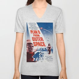 Vintage poster - Plan 9 from Outer Space Unisex V-Neck