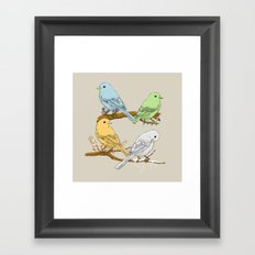 The Seasons Framed Art Print