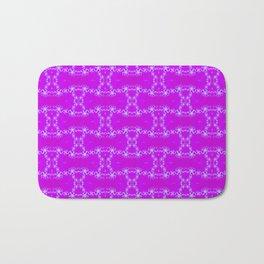 Purpel fractal Bath Mat