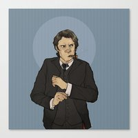 the godfather Canvas Prints featuring godfather sam by cyrrs