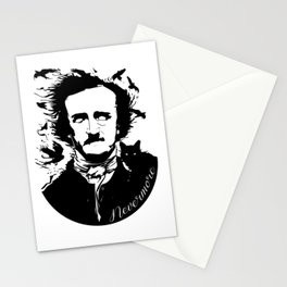 Edgar Allen Poe Stationery Cards