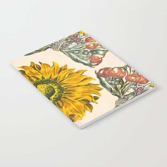 The Universal language of flowers II Notebook