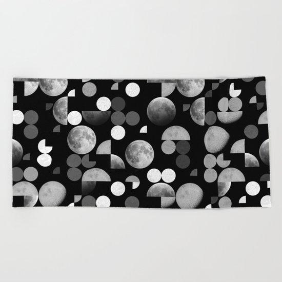 Moons Beach Towel