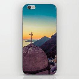 Adorable Santorini iPhone Skin