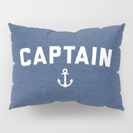Captain Nautical Quote Pillow Sham